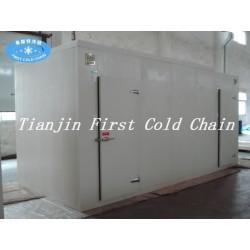 La Chine fournit une petite chambre froide combinée à une utilisation pour le stockage de fruits / légumes