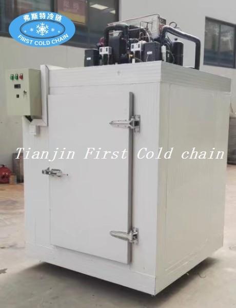 Suministro de China pequeña cámara fría combinada con Usado para almacenamiento de frutas / verduras