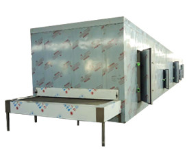 La fábrica de China suministra directamente el congelador de túnel IQF para mariscos / pescado