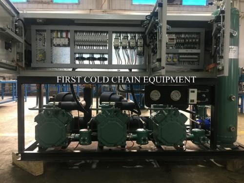 Unidad de compresor de refrigeración Unidad de condensación de congelación rápida