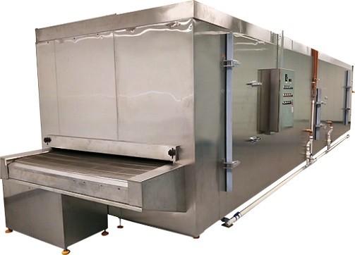 Congélateur de tunnel de la Chine 150kg / h avec la ceinture, la viande, les fruits de mer d'acier inoxydable