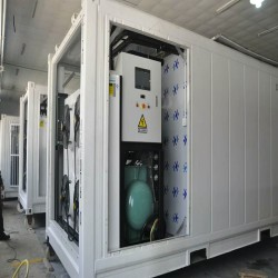 China High Quality moving blast freezer /container freezer for food factory