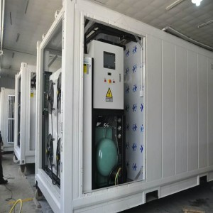 Contenedor congelador móvil de alta calidad para la fábrica suplly
