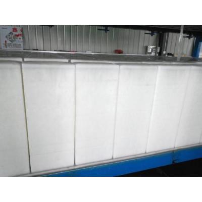 Máquina automática de bloques de hielo de enfriamiento directo, máquina de hacer bloques de hielo para la industria pesquera