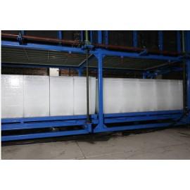 Machine de bloc de glace de refroidissement direct automatique, machine de fabrication de glace en bloc pour la pêche
