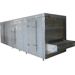 High quality 100kg/h China Tunnel Freezer for Food Industry processing