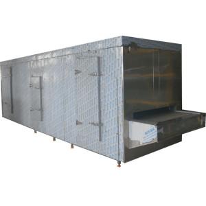 Congelador de alta calidad de 100kg / h China / maquinaria de congelación para el procesamiento de la industria alimentaria