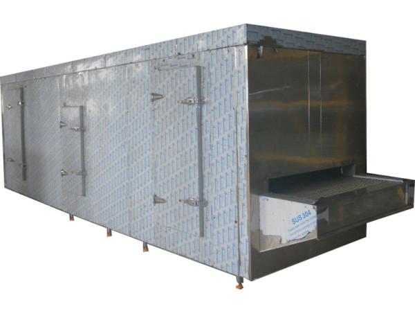 Congélateur de tunnel de haute qualité de la Chine 100kg / h / machines de congélation pour la transformation d'industrie alimentaire