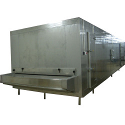 China Cost Effective Tunnel freezer 300kg/h for Frozen chicken