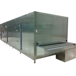 Tunnel Freezer for frozen chicken and other pasta food 500kg/h in China