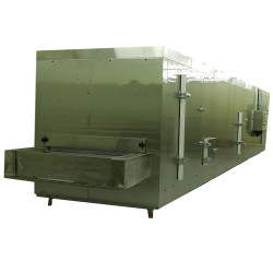China first cold chain supply 100kg/h tunnel freezer for freeze egg tart