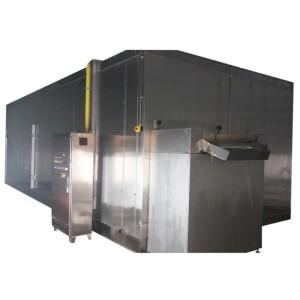 SLD Congélateur rapide pour lit de fluidisation / machine IQF de fluidification / tunnel de congélation