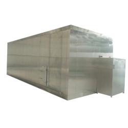 Fluidized Quick Freezing / Fluidized IQF freezer for Fruit or vegetable  Processing