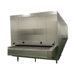 China high quality 500kg/h Tunnel Freezer with Bitzer compressor unit export America