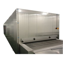 China Cost-effective intelligence 1000kg/h tunnel freezer for frozen shrimp and pasta