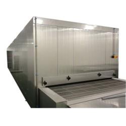 China Congelador de túneles de 1000 kg / h de inteligencia rentable para mariscos y pastas congelados