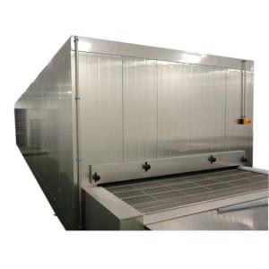 Tunnel congélateur intelligent de l'intelligence 1000kg / h en Chine pour les fruits de mer et les pâtes surgelés