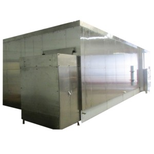 Congélateur rapide surgelé / IQF de légumes / fruits / frites de haute qualité