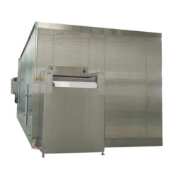 China High Quality IQF freezer / Fluidized bed Freezer 1000kg/h for fries or Vegetable