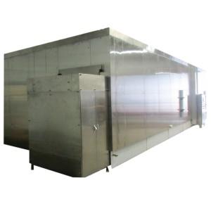 Congelador rápido fluidizado / Fluidización Congelador rápido individual 3000kg / h