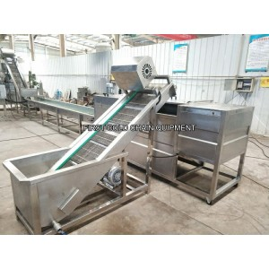 100kg/h Forzen French Fries Making Machine for Factory Potato Fries Production Line