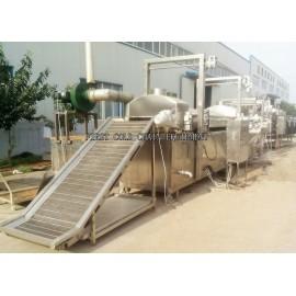 Cadena de producción congelada semiautomática de las patatas fritas de Hight Quality para China