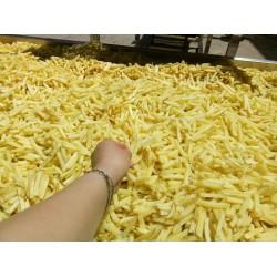 Frites de pommes de terre surgelées faisant frites faisant la machine de chaîne de production