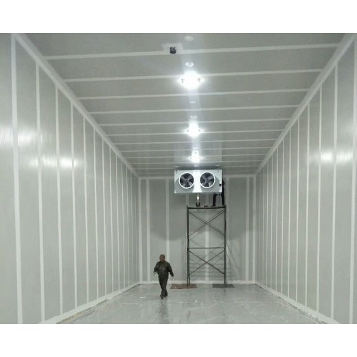 How to decontaminate cold storage refrigeration system after installation?