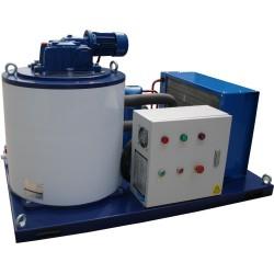 Machines de fabrication de glace en paillettes de haute qualité 1T / 24h pour le traitement des fruits de mer