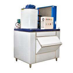 China Supplier top quality 1.5T/24H flake ice machine for fishery storage