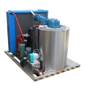 Machine de fabrication de glace en écaille rentable élevée de Chine / machine à glace