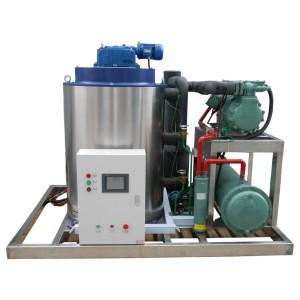 Machine à glace en flocons de haute qualité de Chine 5T / 24h pour les légumes et les fruits