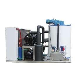 Machine à glace en écailles 5T / 24H à haut rendement énergétique en acier inoxydable