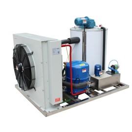 Máquina de fabricación / fabricación de hielo flack 5000kg / 24h para supermercado