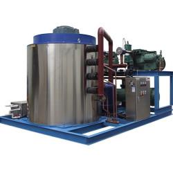 8000kg/24h flake ice machines/Flake  ice maker/ice slicing machine