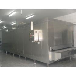 La ceinture rentable d'acier inoxydable de congélateur de tunnel et le compresseur bien-connu de marque pour la nourriture congelée