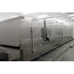 China Tunnel freezer for Freeze Pizza the capacity from 100kg/h to 1000kg/h