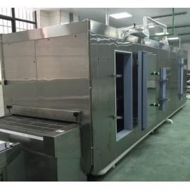 Tunnel congélateur de tunnel technique pour poissons et crevettes en Chine