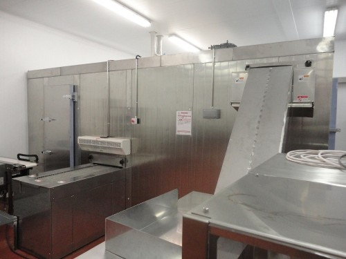 China High Quality Double Spiral Freezer 1000-6000kg/h  for frozen seafood/meat