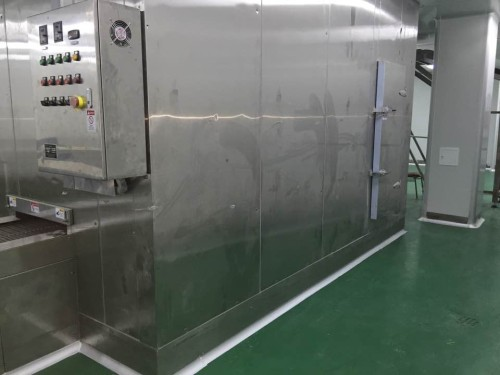 Cost-effective China spiral quick freezer 1000kg/h export Morroco for shrimp