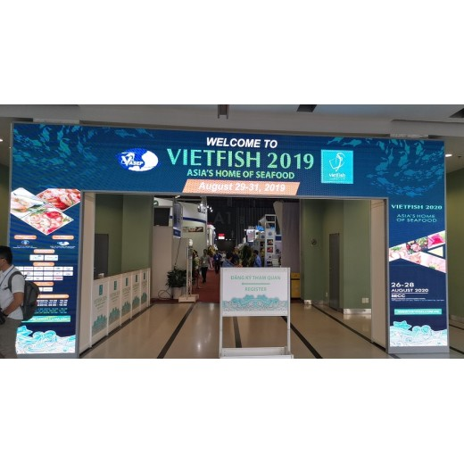 August 29 to 31, 2019, the company participated in the fishery exhibition in Ho Chi Minh City, Vietnam.
