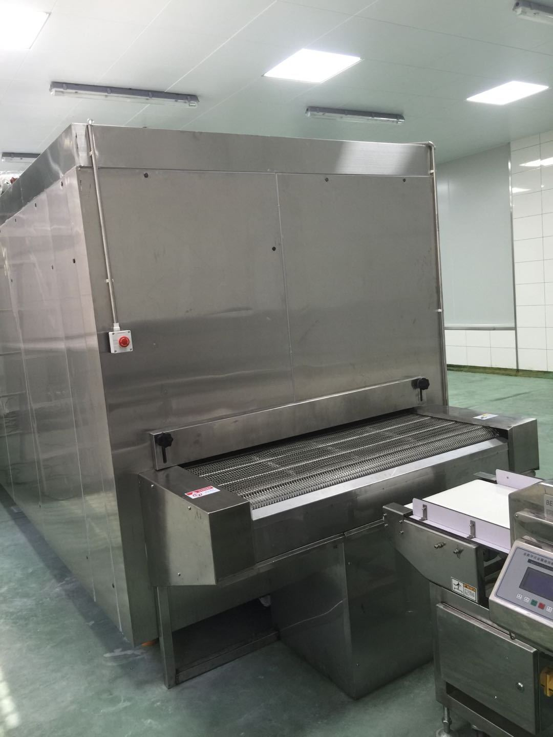 first cold chain tunnel freezer