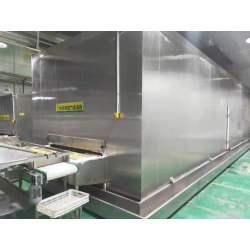 Customized Industrial Tunnel Freezer/Impingement Freezer/IQF Tunnel Freezer