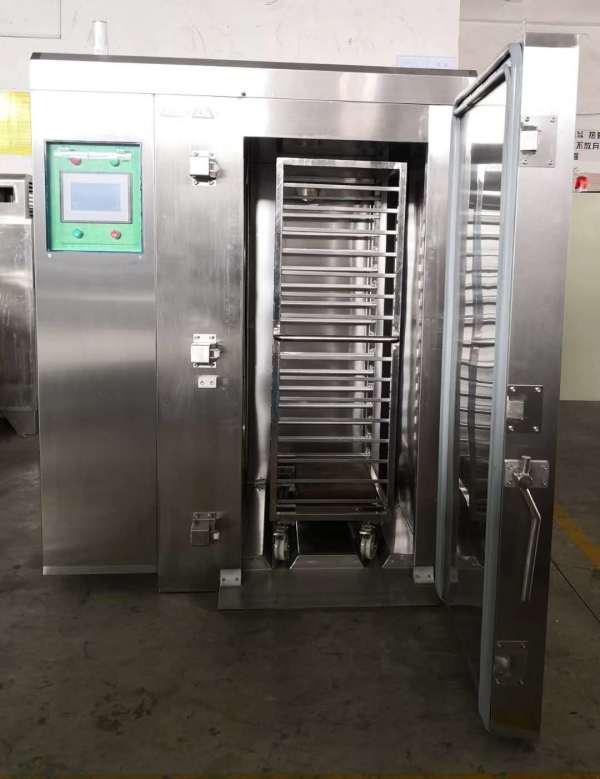 Low temperature -196 ℃ liquid nitrogen blast freezer/flash freezer for seafood