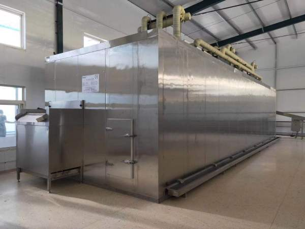 China cost-effective Fluidized bed IQF freezer for freeze green bean /Fluidization IQF machine