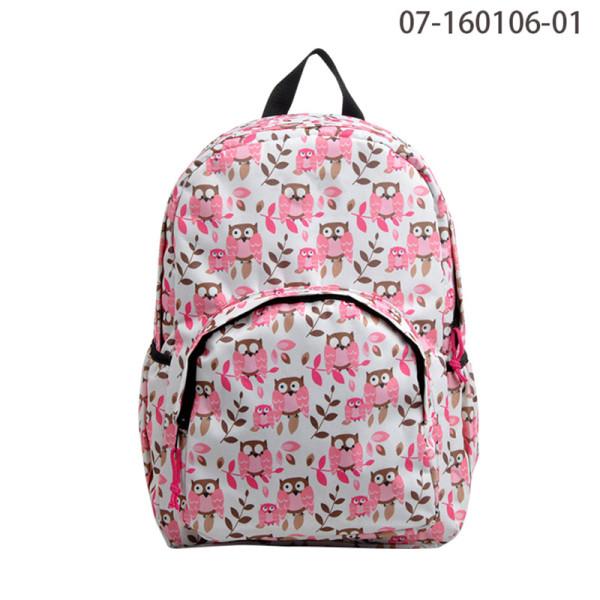 Pink Fashion Design School Bag, 2016 Backpack For Girls