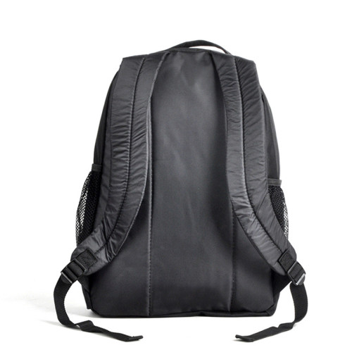 Latest PVC Material Black Waterproof Backpack Bag Factory Direct Sale