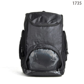 New Arrival 420D+600D Black Outdoor Men Sport Bagpack Bulk Sale
