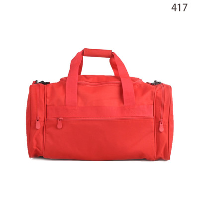 Shoulder Tote 600D Red Foldable Fancy Design Best Travel Duffel Bag