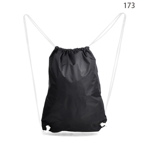 2016 Wholesale Black Promotional Cheap Drawstring Bag Backpack